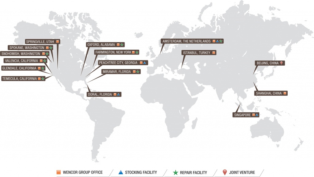Wencor Group Global Locations