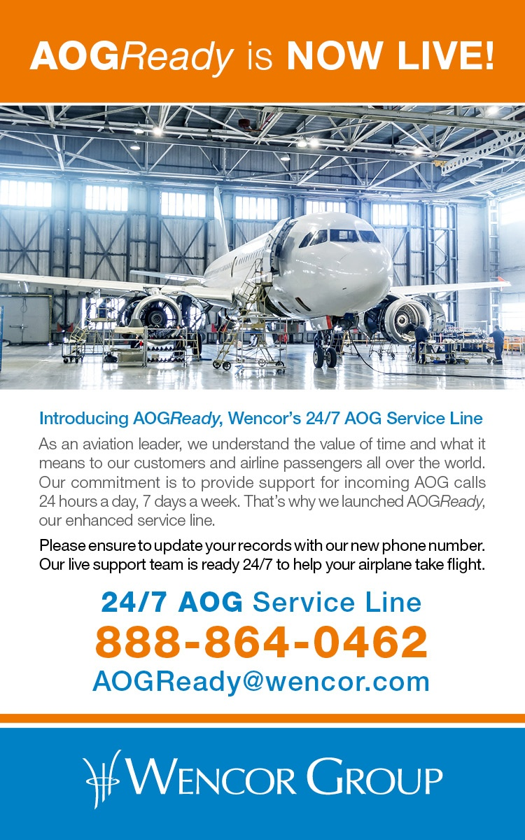 Wencor Launch AOG 24hr Line